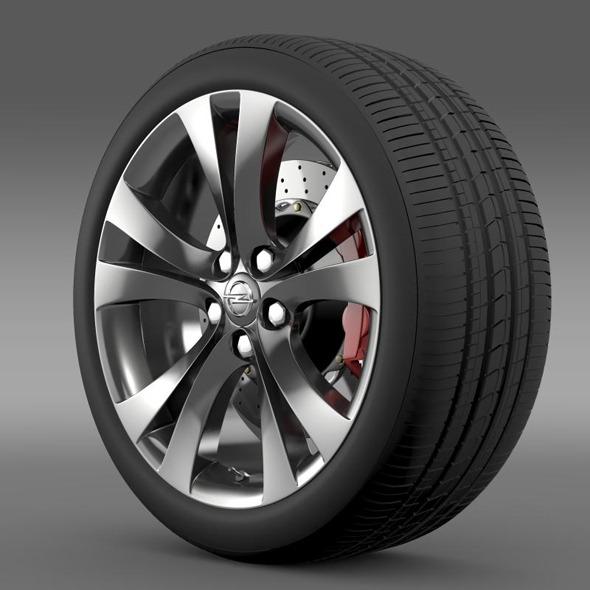 3DOcean Opel Insignia wheel 11234785