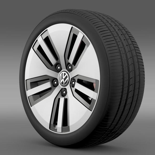 3DOcean Volkswagen E Golf wheel 11236826
