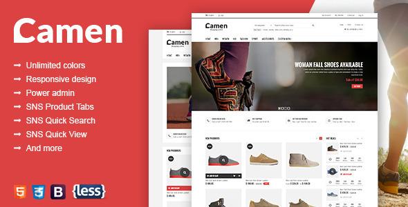 SNS Camen - Premium Responsive Magento Theme
