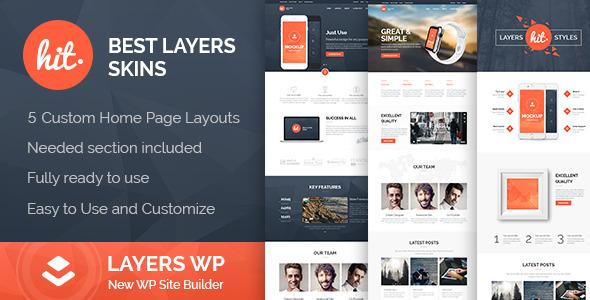 CodeCanyon HIT LayersWP WordPress Style Kit 11210237