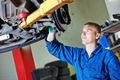 auto mechanic at car suspension repairing - PhotoDune Item for Sale