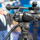 Filming an Event with a Video Camera - PhotoDune Item for Sale