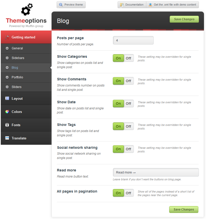 Limuso WordPress Theme