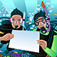 Snorkeling Poster - GraphicRiver Item for Sale