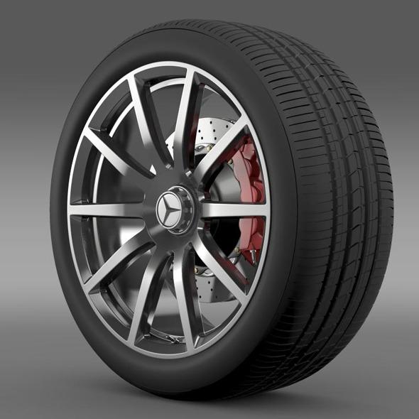 AMG Mercedes Benz S 63 wheel - 3DOcean Item for Sale