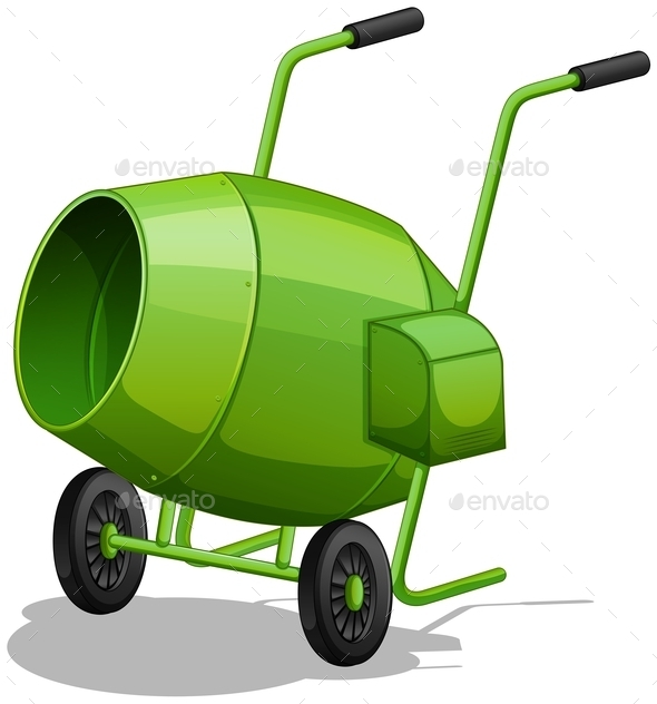 GraphicRiver Cement Mixer 11237343