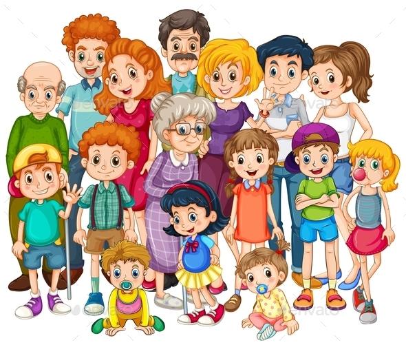 GraphicRiver Family 11237536