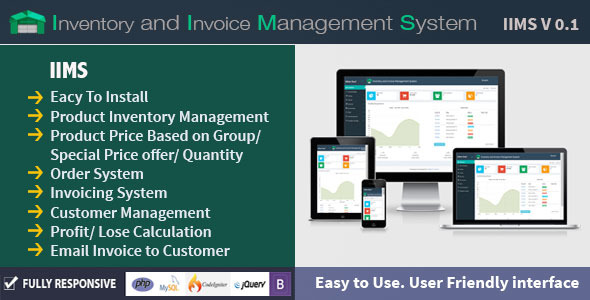 Inventory and Invoice Management System (IIMS) (Miscellaneous) Download