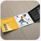 Dance Studio Square Trifold Template - GraphicRiver Item for Sale