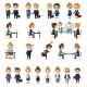 Business Office People Set. - GraphicRiver Item for Sale