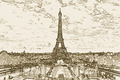 Paris - the Eiffel Tower - PhotoDune Item for Sale