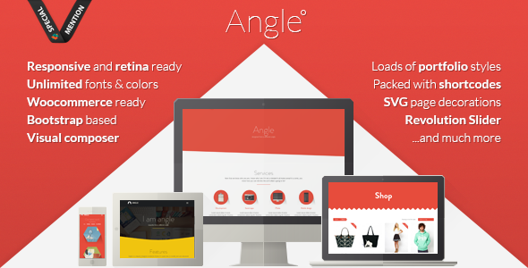 Angle Flat Responsive Bootstrap MultiPurpose Theme - Creative WordPress