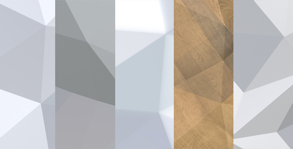 Polygonal Backgrounds 5-pack