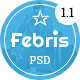 Febris - Porfolio<hr/> Corporate One Page PSD Template&#8221; height=&#8221;80&#8243; width=&#8221;80&#8243;></a></div><div class=