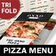 Pizza Restaurant Trifold Menu - GraphicRiver Item for Sale