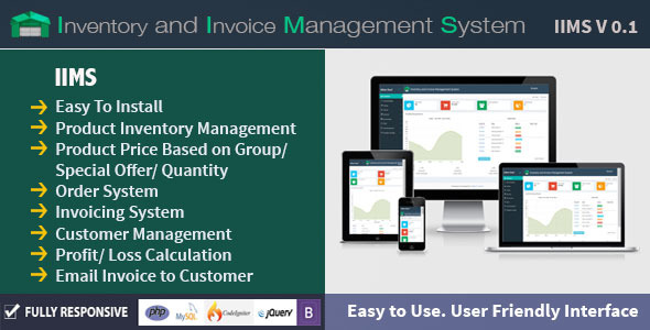 CodeCanyon Inventory and Invoice Management System IIMS 11175105