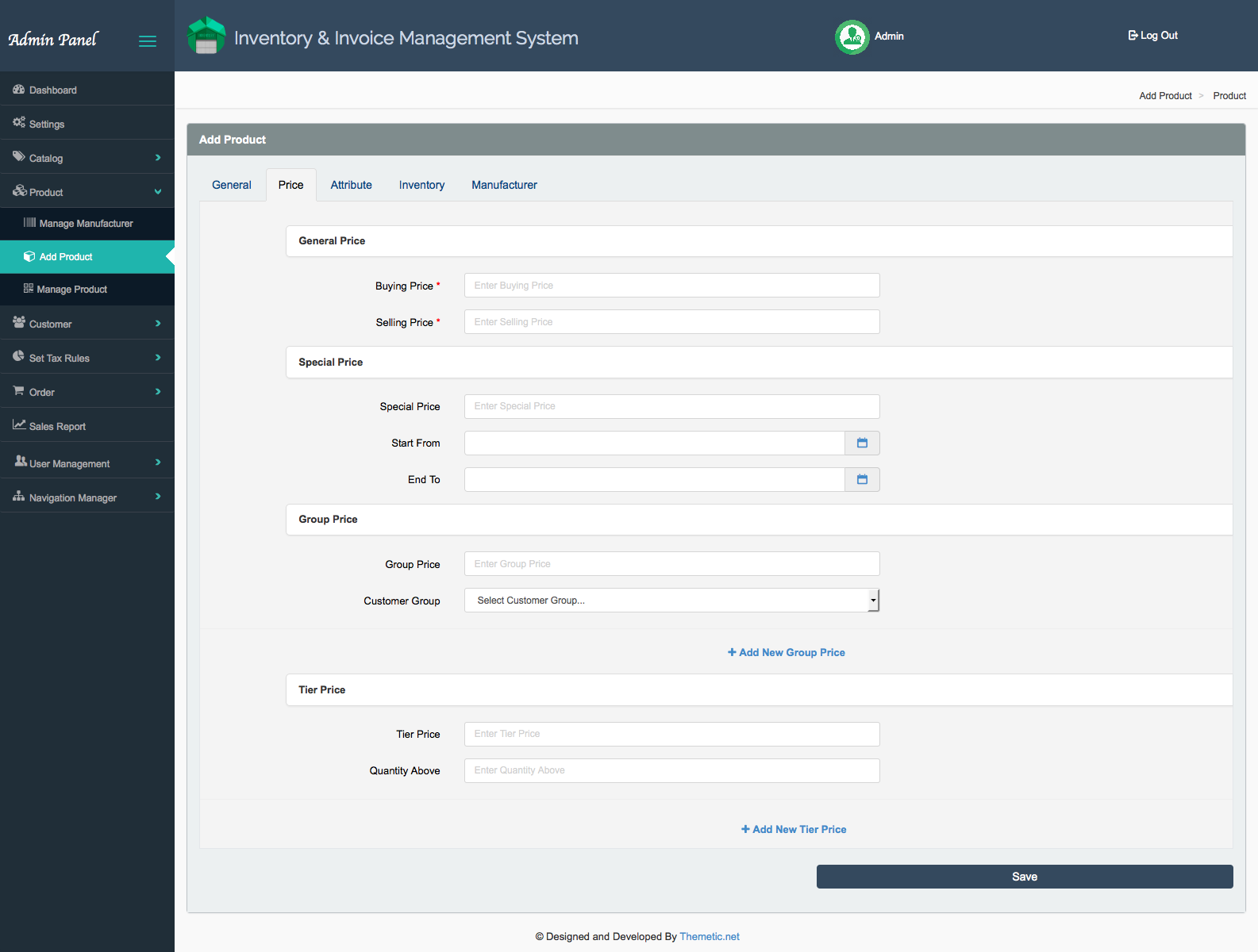 Inventory And Invoice Management System Iims V 1 2 By