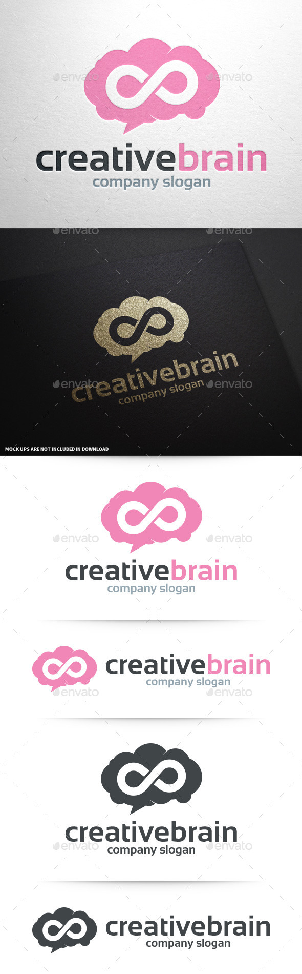 GraphicRiver Creative Brain Logo Template 11238833