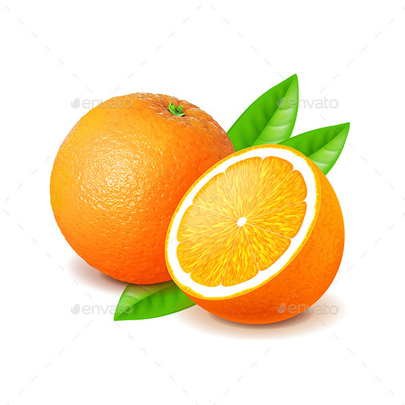 GraphicRiver Orange and Slice 11238839