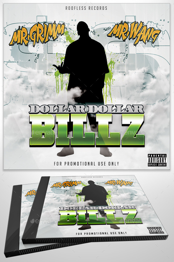 GraphicRiver Dollar Dollar Billz Mixtape 11215250