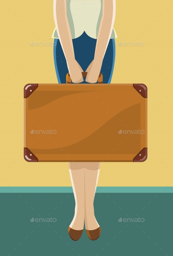 GraphicRiver Suitcase For Travel 11239242
