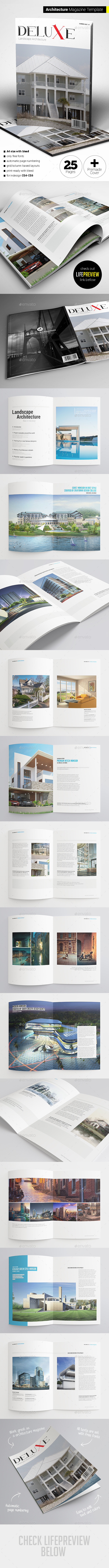 GraphicRiver Architecture Magazine 11239258