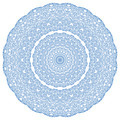 Blue abstract radial hape with pattern - PhotoDune Item for Sale