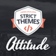 Attitude: Multimedia Portfolio for Media Artists - ThemeForest Item for Sale