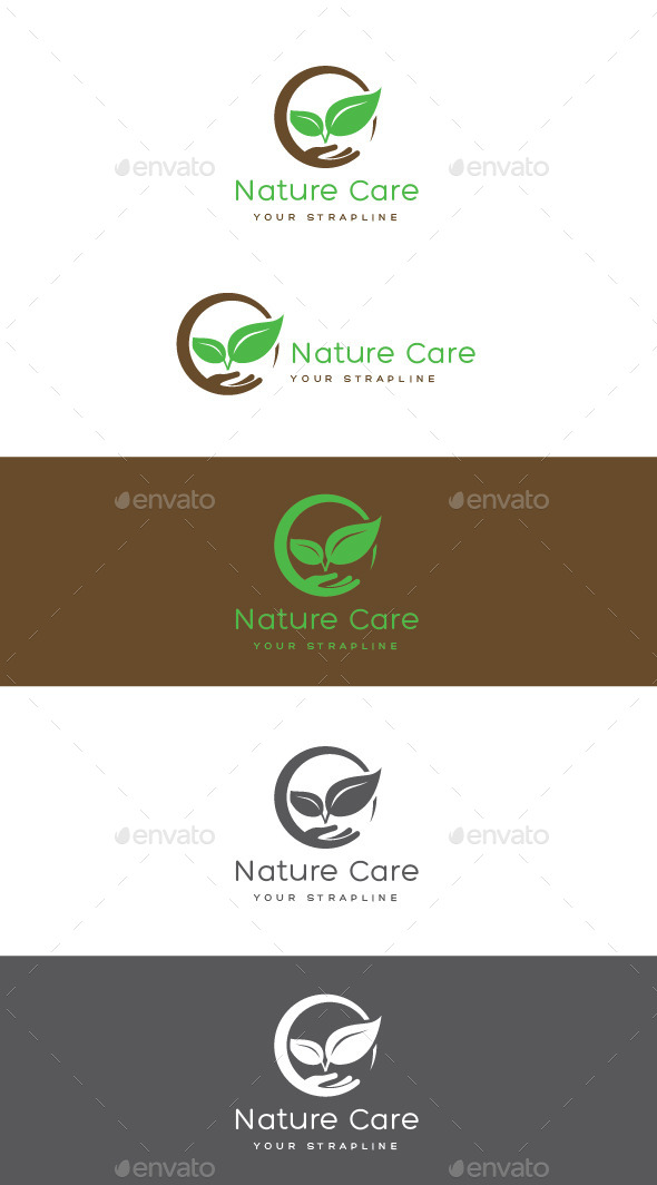 GraphicRiver Nature Care Logo 11239480