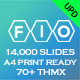 Fio - Complete Powerpoint Template - Print Ready - GraphicRiver Item for Sale