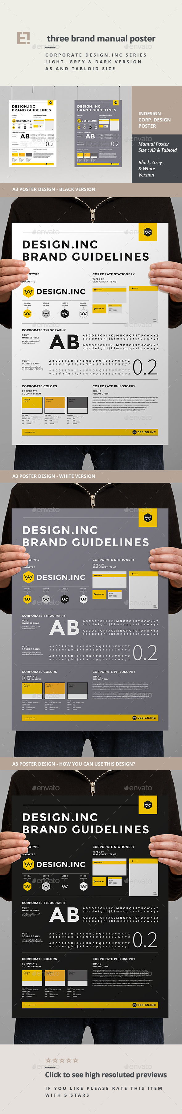GraphicRiver Brand Manual Template 11225731
