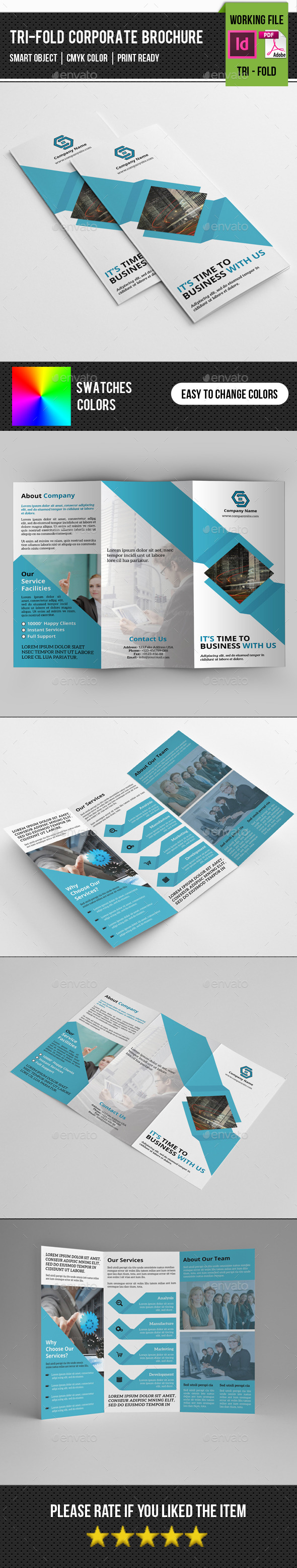 GraphicRiver Corporate Trifold Brochure-V234 11239993