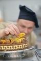 chef preparing desert cake in the kitchen - PhotoDune Item for Sale