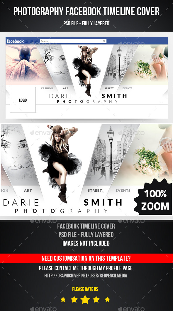 GraphicRiver Photography Facebook Timeline Cover 11240178