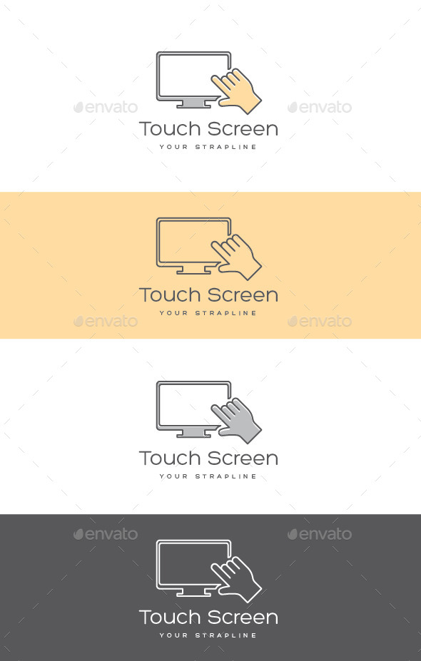 GraphicRiver Touch Screen Logo 11240365