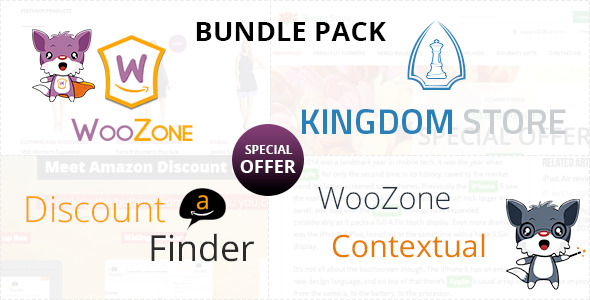 CodeCanyon WooZone Amazon Associates Bundle Pack 11240475