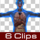 Anterior Of Man Body - VideoHive Item for Sale