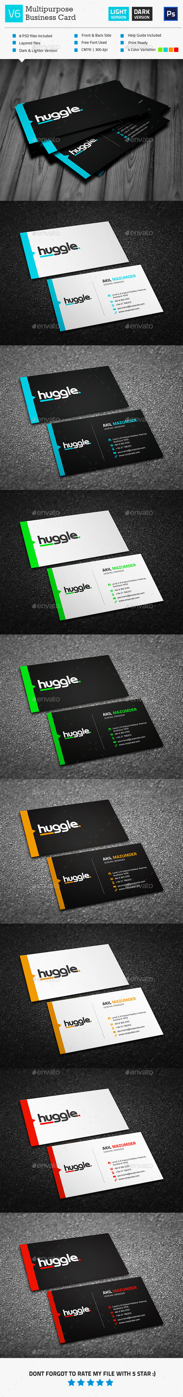 GraphicRiver Business Card V6 11226513