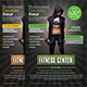 Fitness Center Flyer Temp - GraphicRiver Item for Sale
