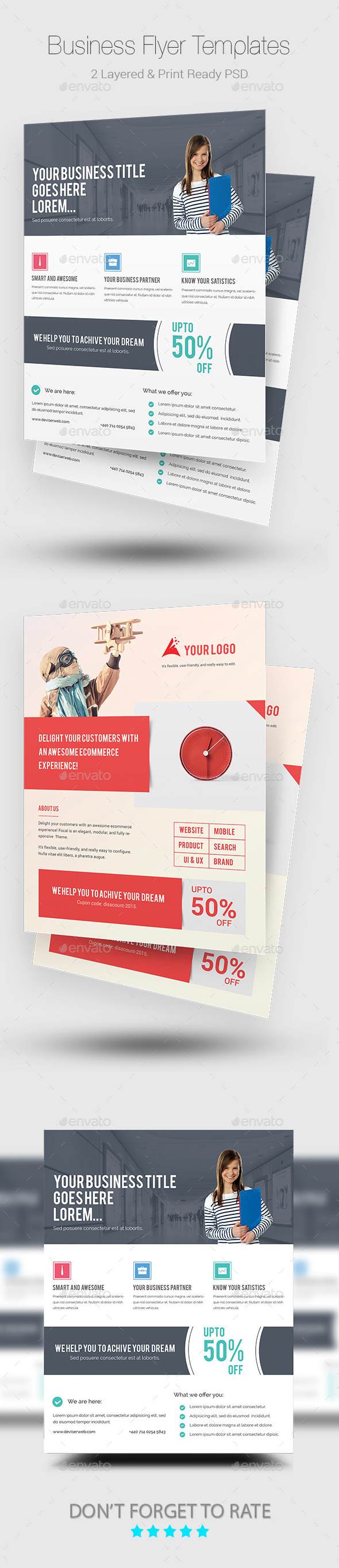GraphicRiver Business Flyers 11241000