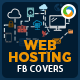 Web Hosting Facebook Covers - 2 Designs - GraphicRiver Item for Sale