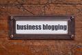 business blogging label - PhotoDune Item for Sale