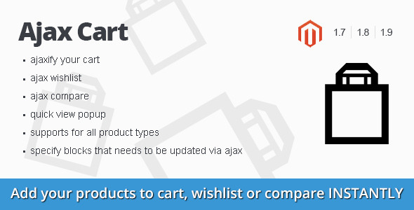 CodeCanyon Ajax Cart magento extension 11241759
