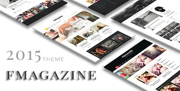 F - Magazine Wordpress Theme
