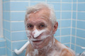 Senior man bathing - PhotoDune Item for Sale