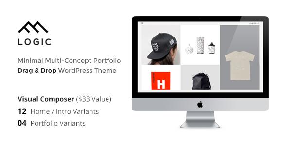 LOGIC - Minimal Multi Concept Portfolio WP Theme