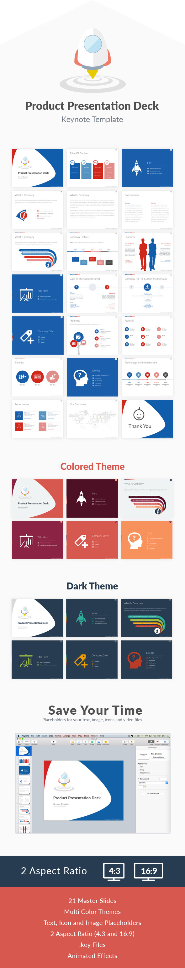 GraphicRiver Product Keynote Presentation Deck 11224805