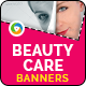 Beauty Care Banners - GraphicRiver Item for Sale