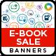 E-Book Sale Banners - GraphicRiver Item for Sale