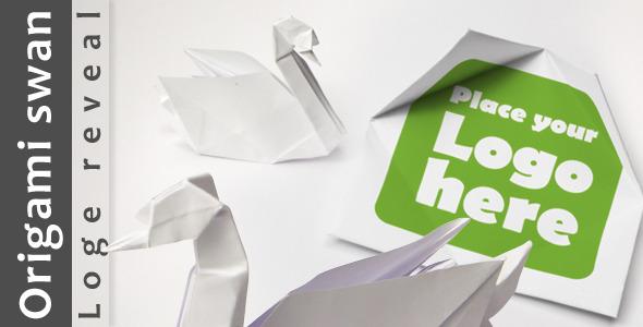 Origami Swan Logo Reveal